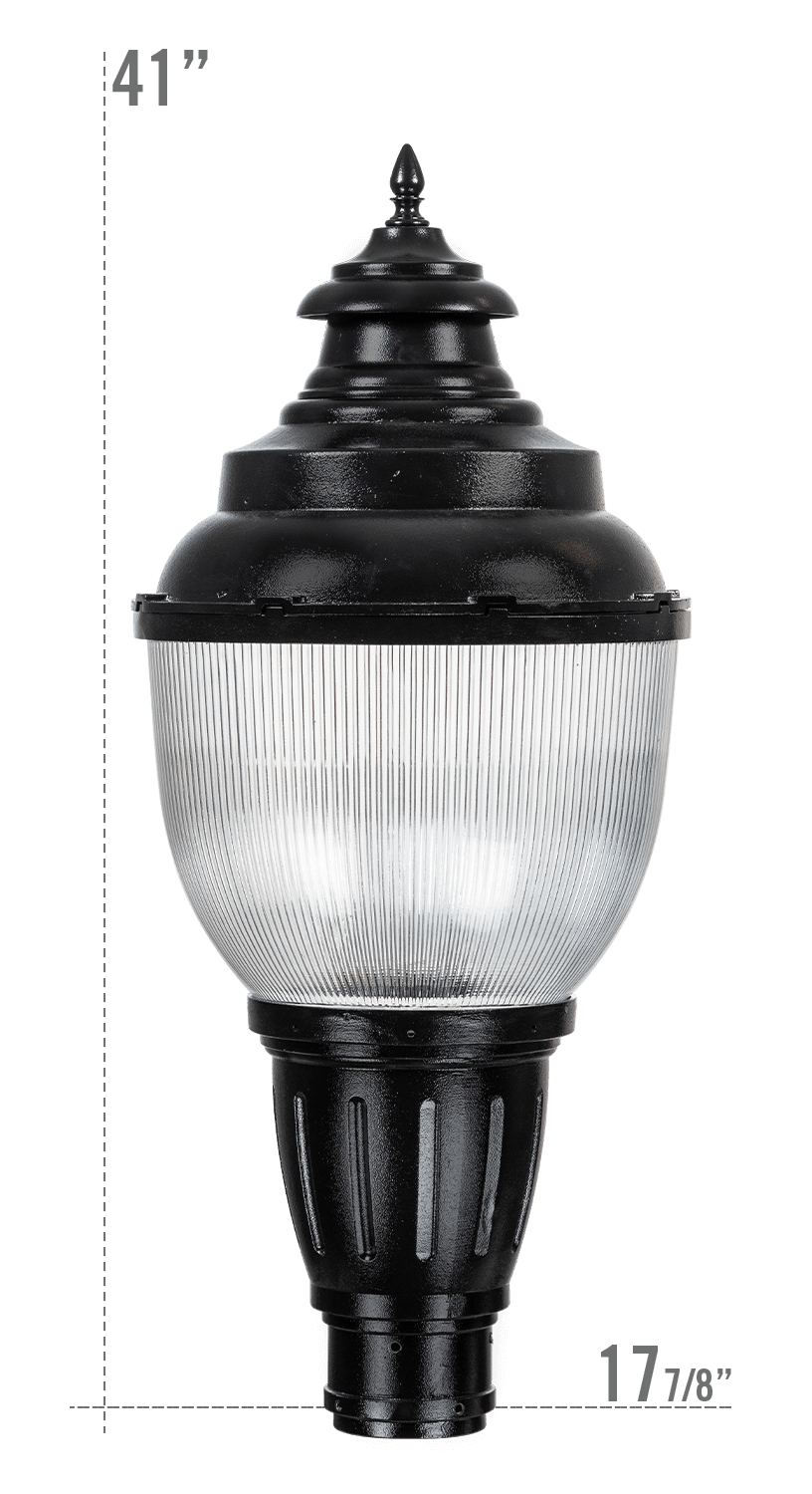 Key West LED Luminaire GR18 Globe