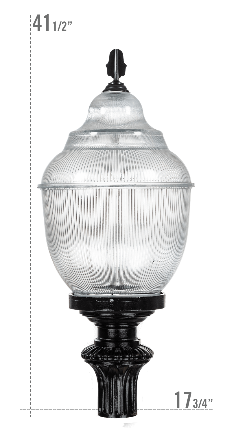 Washington LED Luminaire G637 Globe