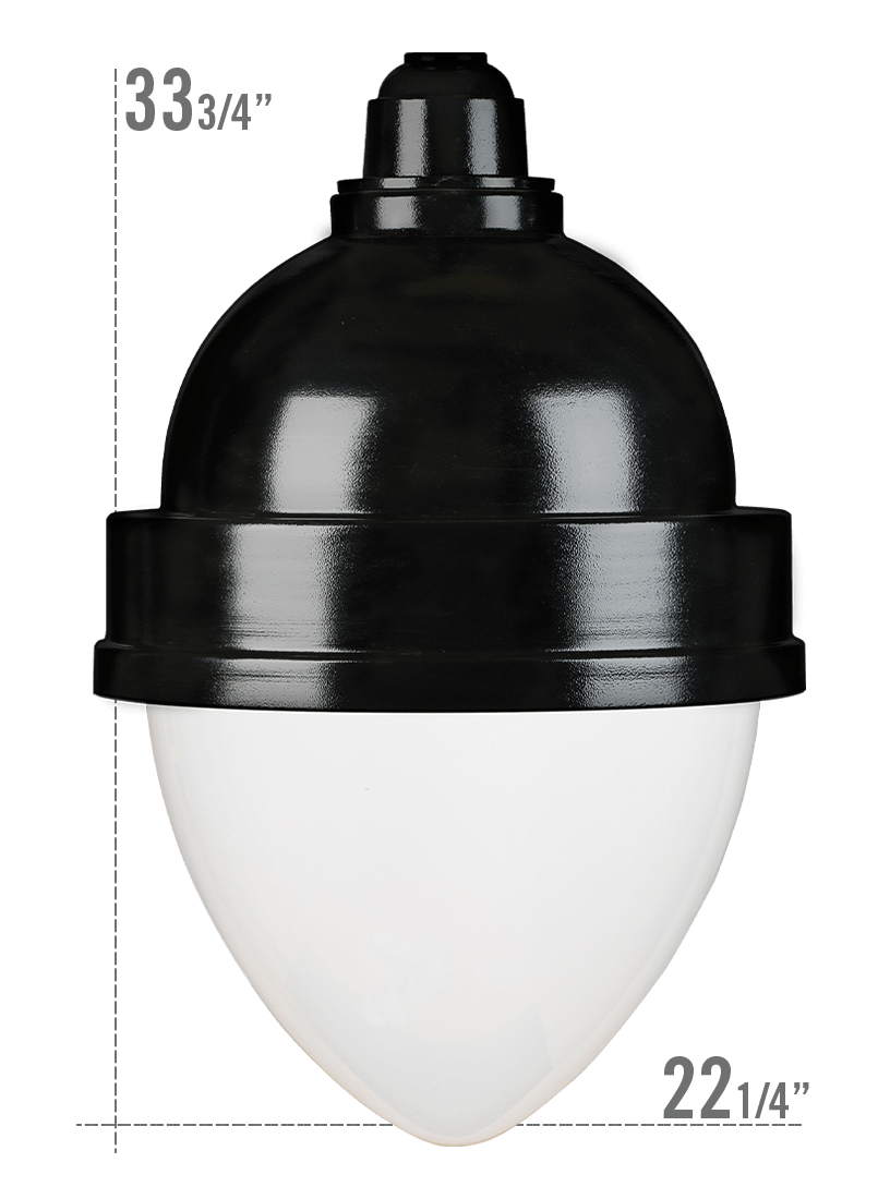 Grand Central LED Luminaire YGCO Globe