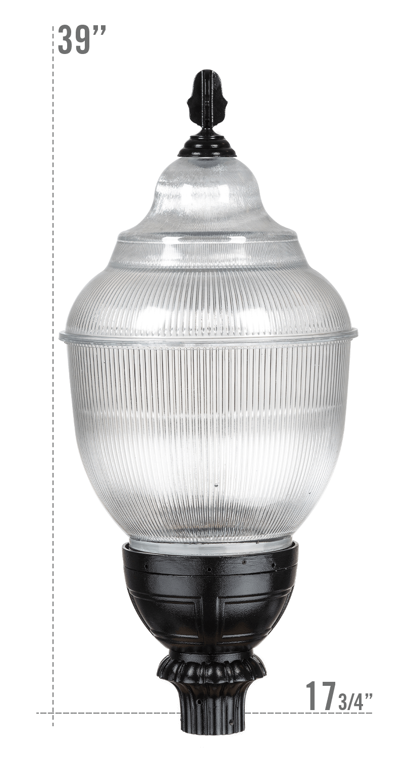 THE GETTYSBURG X-SERIES LED LUMINAIRE G637 GLOBE