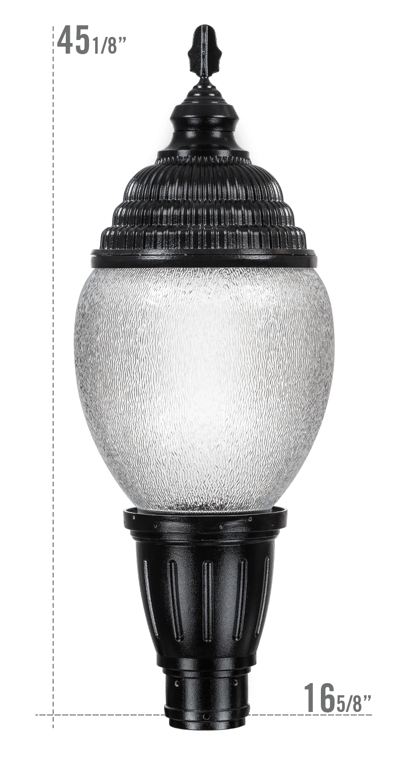Key West LED Luminaire YS11 Globe